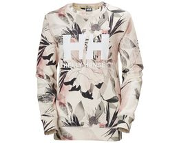 HELLY HANSEN LOGO CREW SWEAT W CREAM ESRA