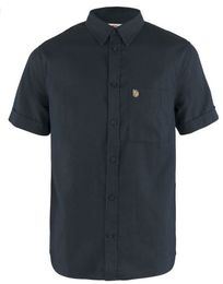 FJÄLLRÄVEN ÖVIK TRAVEL SHIRT SS D.NAVY