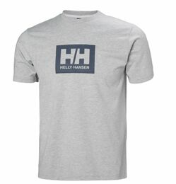 HELLY HANSEN  BOX T T-SHIRT GREY
