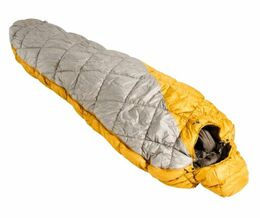 VAUDE MEGLIS 1100 SYN MARIGOLD LEFT SLEEPING BAG