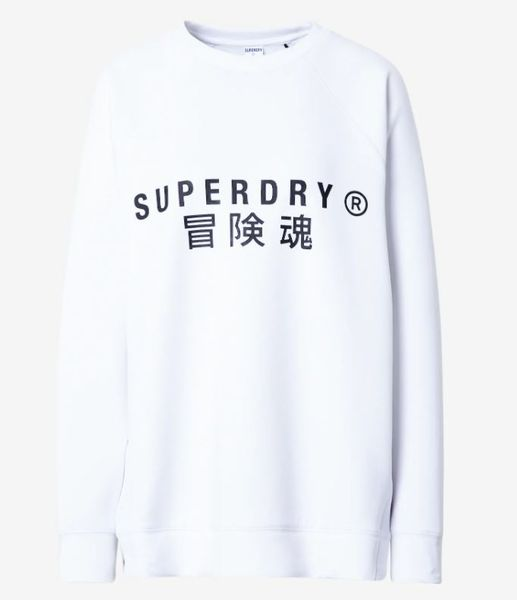 SUPERDRY TRAINING GRAPHIC OVERSIZE CREW W